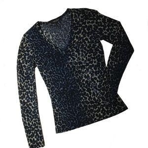 Karen Kane Animal Print Top with Coordinating Tank